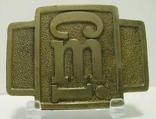 CMI Terex Corporation Construction Machinery Equipment Mfg Belt Buckle Spec Cast