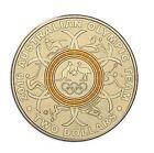 Australian Two Dollar $2 coin - 2016 - Rio Olympic Games - YELLOW - RAM Mint Bag