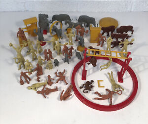 Vintage Marx Super Circus Playset Figures and Accessories