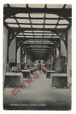 Ushaw College, Durham, The Museum, Early 20th C Lofthouse & Crosbie Postcard 82Q
