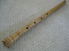 New 2.3 Shakuhachi w. Root End & Natural  Shaku MP - A/C key -- Awesome flute!