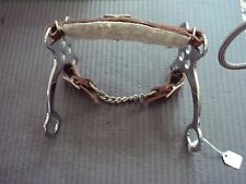 Horse Leather Hackamore English/ Western Bridle Bit Bitless Tack