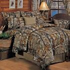 Bedding Sheet Set Realtree All Purpose Camo Camouflage Different Sizes New