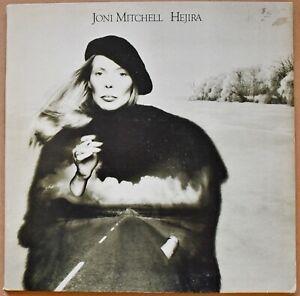 JONI MITCHELL - 'HEJIRA' - STEREO VINYL LP - ASYLUM  - K53053 - 1976 #EC#