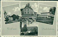Ansichtskarte Liedolsheim Kreis Karlsruhe Festhalle Hauptstraße ... (Nr.9639)