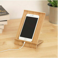 Ikea SIGFINN Universal Wooden Bamboo Mobile Tablet Dock Station Holder Stand NEW