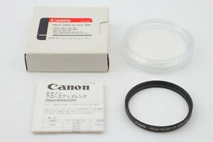 【 Unused in Box 】 Canon 58 Close-up Lens 500D 58mm Screw-In Lens from Japan #118