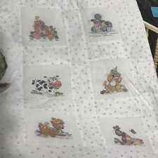 Janlynn Counted Cross Stitch Coverlet Kit 901-50 Happy Time Animals