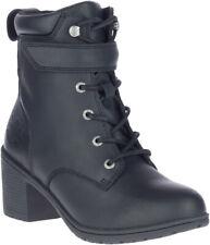 Harley-Davidson Women's Fannin 5-Inch Black Motorcycle Fashion Boots, D84642