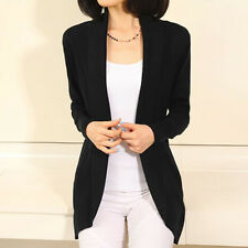 Women Casual Loose Knitted Sweater Long Sleeve Tops Cardigan Coat Jacket Outwear