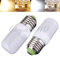 E27 E14 B22 E12 LED 3.5W 48 SMD 3528 LED W/Cover Light Lamp Bulb 12V 110V