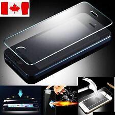 Protecteur d'écran en verre trempé de qualité pour iPhone SE, 5, 5C, 5S