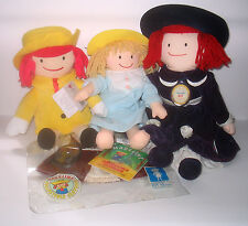 Cloth Plush Madeline Dolls 60th Anniversary Doll