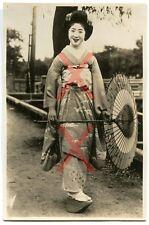 KREUZER EMDEN - orig. Foto, Japanerin, Japan, Auslandsreise 1926-28