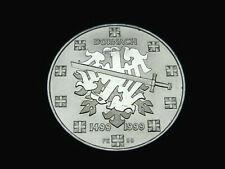 Schweiz-CH., 20 Franken, 1999 B, Schlacht bei Dornach, Silber, orig. St.!