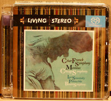 RCA SACD: FRANCK, Symphony / STRAVINSKY, Petrouchka - MONTEUX - 2005 USA