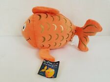 Kohl's CaresThe Fish With the Deep Sea Smile Plush Stuffed Animal Goldfish New