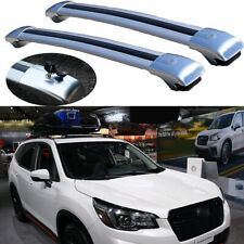 2Pcs Lockable roof crossbars cross bar Rack fits for Subaru Forester 2019-2021