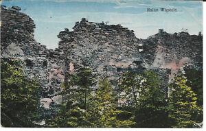 AK Vitkov / Ruine Wigstein /  B. Vikstejn  gelaufen 1933