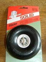 GRAUPNER 166.100 PNEU SOLID wheels rad 100 x 38 mm roue RC tire TYRES modelisme