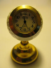 AVIVA COLLECTION GOLF BALL CLOCK  JAPAN MOVEMENT