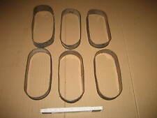 8 Stück Backform Länglich Rund Tortenring ca 23,5 cm lang und ca 10 cm breit 32A