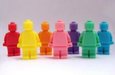 Lego Men Soap Set ~Kids - Favors - Birthday - Parties - Bath Decor ~ 8 Soaps ~