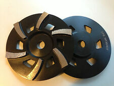 "7"" (175mm) 6 segment low profile cup wheel 30/40# hard  - concrete grinding"