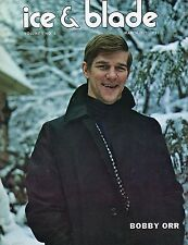 Bobby Orr Boston Bruins 1971 Blade & Ice Magazine Mt-Ex