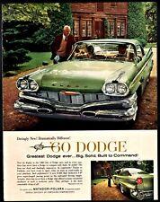 1960 DODGE Matador and Polara Classic Car Photo AD