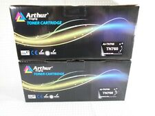 TN-760 Arthur Imaging Replacement Compatible Black Toner for Brother (2-Pack)