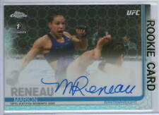 MARION RENEAU Signed '19 CHROME Women's UFC (/16) OCTAFRACTOR 1st AUTO Rookie RC