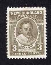 Newfoundland #89 3 Cent Olive Brown John Guy John Guy Issue MH