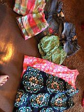 Girls Gap Lot Size 5 Shorts Dress Capri W/free Old Navy Dress
