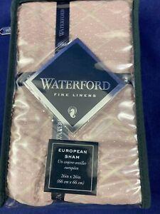 "Waterford European Sham Style Victoria Orchid Euro  26"" x 26"" shvctr w533"