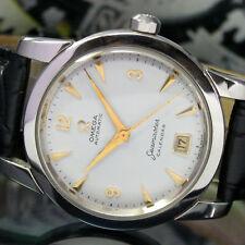 Vintage Omega Seamaster Calendar Self Winding Bumper Mens Wrist Watch