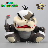 "New Super Mario Bros. U Plush Morton Koopa Jr. Soft Toy Stuffed Animal Doll 8"""