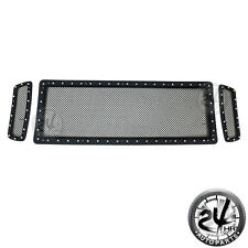 05-07 Super Duty Stud Rivet Black Stainless Wire Mesh Grille Replacement Insert