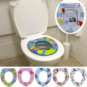 Toddler Kids Child Potty Training Toilet Seat Thick Comfortable Foam Padded Baby
