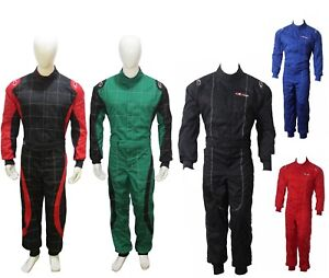 Go Kart Karting Suit Race Rally suits Poly cotton One Piece Adult Karting Suit