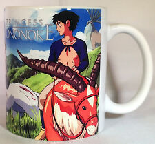 Princess Mononoke - Coffee MUG / CUP - Studio Ghibli - Anime - Manga - Totoro