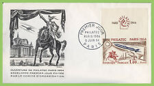 France 1964 Philatec Exhibition 1.00f on First Day Cover