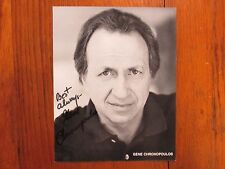 GENE  CHRONOPOULOS (The Beautician and the Beast) Signed  8 X 10  B & W  Photo