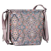 TOM TAILOR Susan Hobo Bag Umhängetasche Tasche Multi Rosa Rot Neu