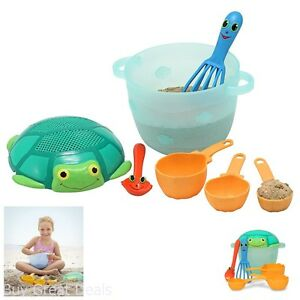 Sand Toys for Boys Toddler Kids Baking Cooking Beach Sifter Mixing Bowl Girl New