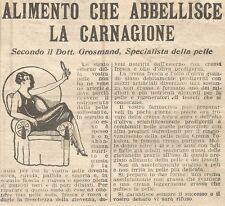 W1681 Crema TOKALON - Pubblicità del 1926 - Old advertising