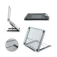 More details for adjustable laptop stand folding portable mesh tablet holder tray office support