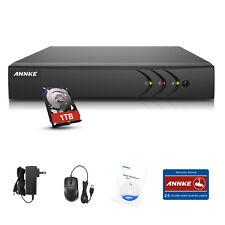 ANNKE 1TB HDD 5IN1 4CH 1080N Security DVR Email Alert Remote APP Home DN41R1T
