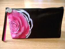 Lancome Pink Rose Logo Makeup bag New