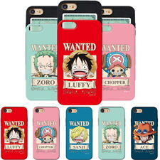 One Piece Wanted Card Slide Case for Samsung Galaxy Note10 10+ Note9 Note8 Note5